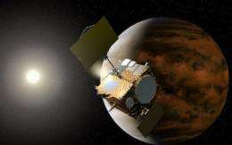 """Japan says it has successfully test-fired the engine of its """"Akatsuki"""" space probe"""