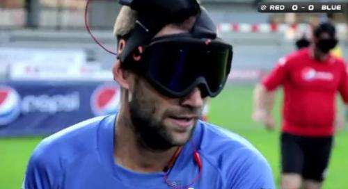 'Sound of Football' project allows blind to play football (w/ video)