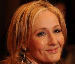 JK Rowling unveiled her latest project Pottermore live on YouTube today