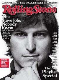Jobs painted as romantic teen in 'Rolling Stone' (AP)
