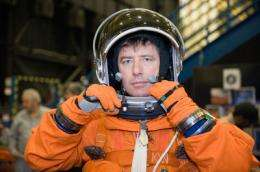 Last Shuttle ride to ISS for ESA astronaut with 'dark matter' hunter