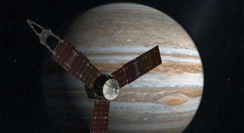 Jupiter-bound Juno spacecraft mated to its rocket