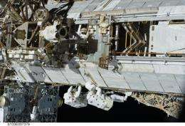 Keeping astronauts safe from meteroids