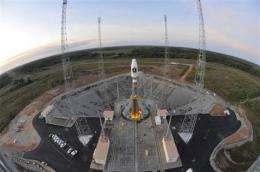 Launch of EU's Galileo system set for Friday (AP)