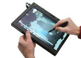 Lenovo to release a 23-inch tablet PC this year?