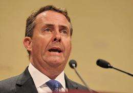 Liam Fox said British defence systems were being targeted by criminals and foreign intelligence services