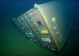 MBARI and Monterey Bay National Marine Sanctuary to study effects of shipping containers lost at sea