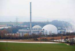 """Merkel a former environment minister called for a """"measured exit"""" from nuclear power"""
