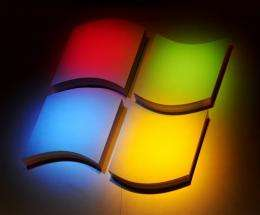 Microsoft gave a sneak preview of Windows 8, a system designed to work on personal computers and touchscreen tablets