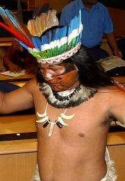 Mundurucu chief