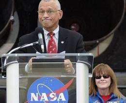 NASA chief Charles Bolden
