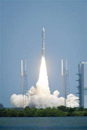 NASA launches spacecraft on 5-year trip to Jupiter (AP)