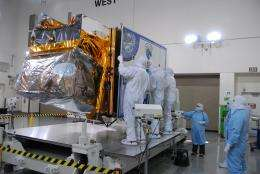 NASA readies new type of Earth-observing satellite for launch