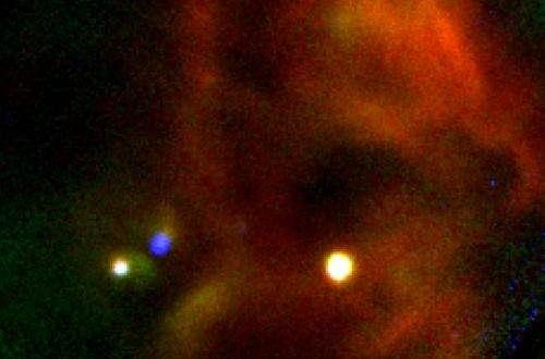 NASA's airborne observatory views star forming region W40