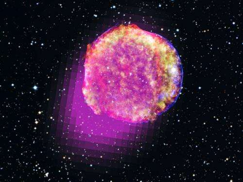 NASA's Fermi shows that Tycho's star shines in gamma rays