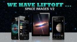 NASA space images app, website broaden cosmic horizons