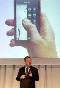 Nokia to launch Microsoft platform phones in 2011 (AP)