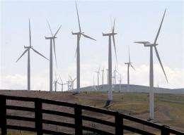 Northwest power surplus may halt wind energy (AP)