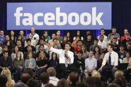 Obama at Facebook: New media, traditional tone (AP)