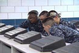 ONR's digital tutors give Naval recruits, high school students an academic edge