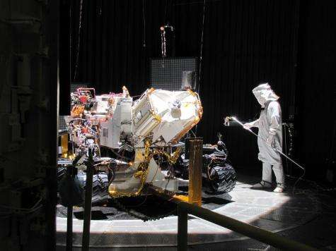 Mars rover gets a test taste of conditions