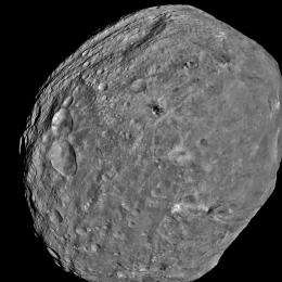 Dawn spacecraft begins science orbits of Vesta