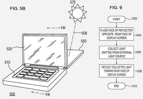 Apple has solar designs, wins patents