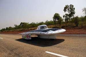 Racing team unveils new car design