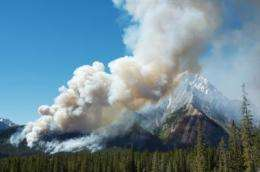 Rapid rise in wildfires in large parts of Canada?