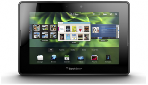 Review: BlackBerry enters tablet market with PlayBook