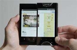 Review: Dual-screen Kyocera smartphone needs work (AP)