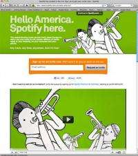 Review: Tuning in to music service Spotify (AP)