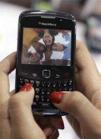 RIM shares down on BlackBerry revenue miss (AP)
