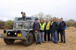 Robotic mine vehicles successfully reanimated by UA engineering students using industry support