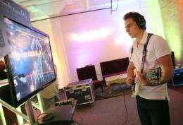 'Rocksmith' is the first major title created by the French videogame titan's, Ubisoft, studio in San Francisco