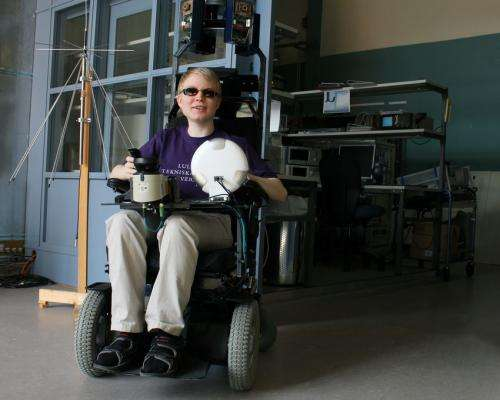 'Sighted' wheelchair tested