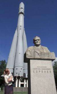 "Russia is also remembering the Sergei Korolev -- the scientist who created the ""Vostok"" rocket"