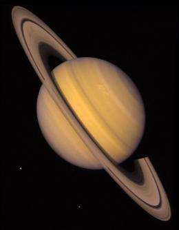 Saturn only visible planet through the month of April