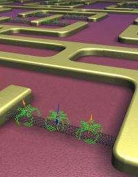 Self-assembling electronic nano-components