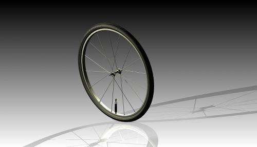Self-inflating bike tires campaign for dollars