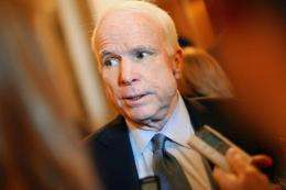 Senator John McCain urged the creation of a special Senate committee on cybersecurity and electronic intelligence leaks