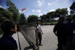 Shanghai shuts 2 factories in lead poisoning probe (AP)