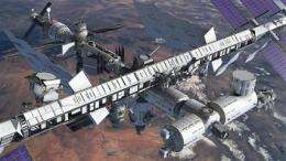 Shuttle brings big-bucks magnet to space station (AP)
