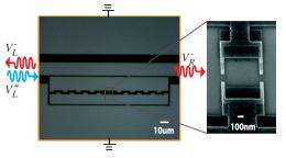 Physicists build first single-photon router