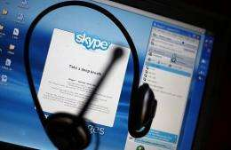 Skype, the hugely popular free Internet communications service, announced plans to introduce advertising