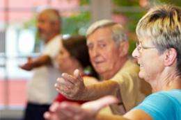 Socially active older adults have slower rates of health declines
