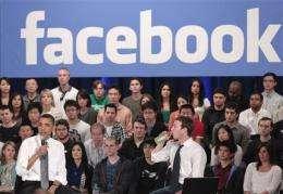 """Social media companies """"friend"""" politics (AP)"""