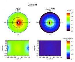 Solar storms could sandblast the moon
