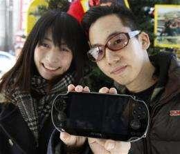 Sony's PlayStation Vita hits stores in Japan (AP)