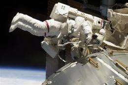 Space robot's debut being moved up after clamor (AP)